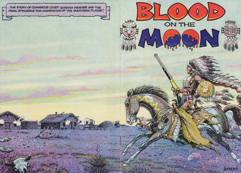 Cover for Blood on the Moon (Last Gasp, 1978 series) #1