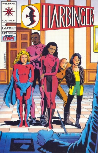 Cover for Harbinger (Acclaim / Valiant, 1992 series) #31