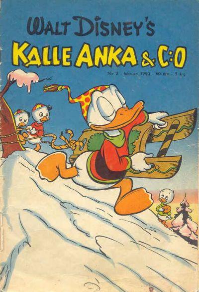 Cover for Kalle Anka & C:o (Richters Förlag AB, 1948 series) #2/1950