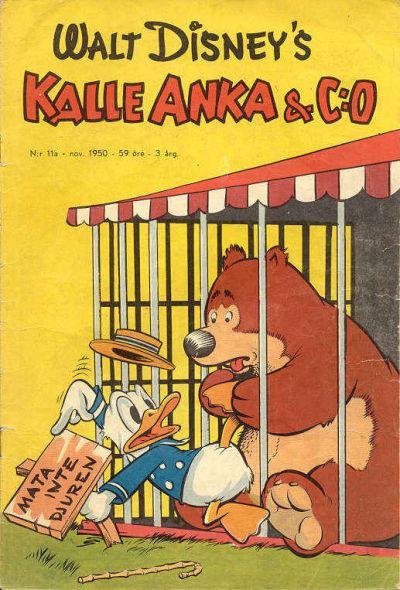 Cover for Kalle Anka & C:o (Richters Förlag AB, 1948 series) #11a/1950