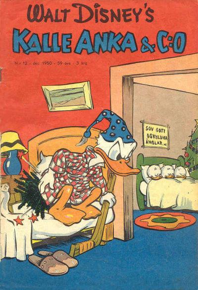 Cover for Kalle Anka & C:o (Richters Förlag AB, 1948 series) #12/1950