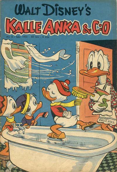 Cover for Kalle Anka & C:o (Richters Förlag AB, 1948 series) #2/1951