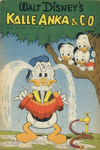 Cover for Kalle Anka & C:o (Richters Förlag AB, 1948 series) #3/1953