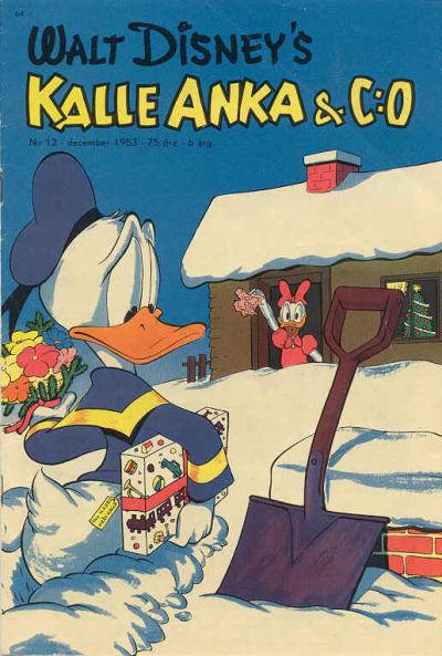 Cover for Kalle Anka & C:o (Richters Förlag AB, 1948 series) #12/1953