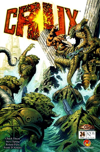 Cover for Crux (CrossGen, 2001 series) #24