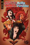 Cover Thumbnail for Red Sonja and Vampirella Meet Betty and Veronica (2019 series) #1 [Cover B Francesco Francavilla]