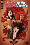 Cover Thumbnail for Red Sonja and Vampirella Meet Betty and Veronica (2019 series) #1 [Cover B Francesco Francavilla]