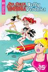 Cover for Red Sonja and Vampirella Meet Betty and Veronica (Dynamite Entertainment, 2019 series) #1 [Cover F Dan Parent]