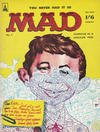 Cover for Mad (Thorpe & Porter, 1959 series) #3