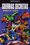 Cover for Marvel Série I (Levoir, 2012 series) #12 - Guerras Secretas - Heróis vs. Vilões