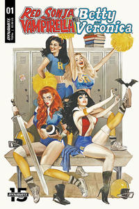 Cover Thumbnail for Red Sonja and Vampirella Meet Betty and Veronica (Dynamite Entertainment, 2019 series) #1