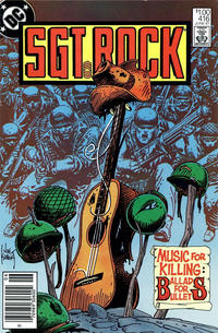 Cover Thumbnail for Sgt. Rock (DC, 1977 series) #416 [Canadian]