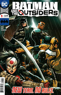 Cover Thumbnail for Batman and the Outsiders (DC, 2019 series) #1