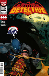 Cover Thumbnail for Detective Comics (DC, 2011 series) #1003