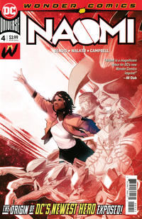 Cover Thumbnail for Naomi (DC, 2019 series) #4 [Second Printing]