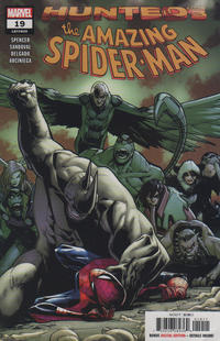 Cover Thumbnail for Amazing Spider-Man (Marvel, 2018 series) #19 (820) [Regular Edition - Humberto Ramos Cover]
