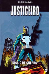 Cover Thumbnail for Marvel Série I (Levoir, 2012 series) #10 - Justiceiro - Diário de Guerra