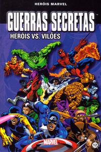 Cover Thumbnail for Marvel Série I (Levoir, 2012 series) #12 - Guerras Secretas - Heróis vs. Vilões