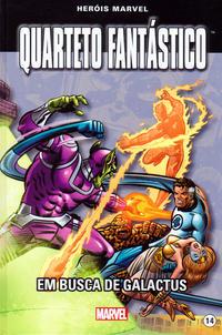 Cover Thumbnail for Marvel Série I (Levoir, 2012 series) #14 - Quarteto Fantástico - Em Busca de Galactus