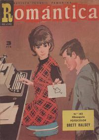 Cover Thumbnail for Romantica (Ibero Mundial de ediciones, 1961 series) #182