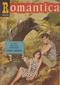 Cover Thumbnail for Romantica (Ibero Mundial de ediciones, 1961 series) #204