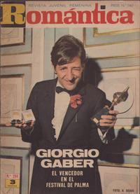 Cover Thumbnail for Romantica (Ibero Mundial de ediciones, 1961 series) #294