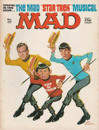 Cover Thumbnail for Mad (Thorpe & Porter, 1959 series) #177