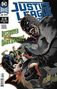 Cover Thumbnail for Justice League (DC, 2018 series) #24 [Jorge Jimenez Cover]