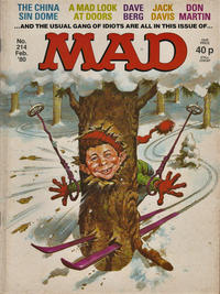 Cover Thumbnail for Mad (Thorpe & Porter, 1959 series) #214