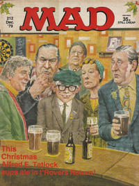 Cover Thumbnail for Mad (Thorpe & Porter, 1959 series) #212