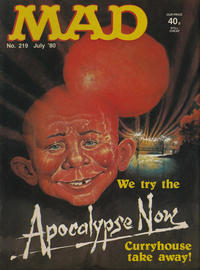 Cover Thumbnail for Mad (Thorpe & Porter, 1959 series) #219