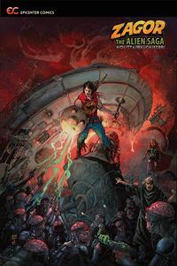 Cover Thumbnail for Zagor: The Alien Saga (Epicenter Comics, 2019 series)  [Michele Rubini]