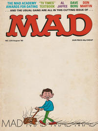 Cover Thumbnail for Mad (Thorpe & Porter, 1959 series) #220