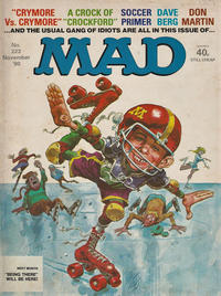 Cover Thumbnail for Mad (Thorpe & Porter, 1959 series) #223