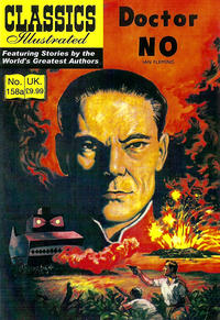 Cover Thumbnail for Classics Illustrated (UK) (Classic Comic Store, 2011 series) #158A - Doctor No [9.99 GBP]