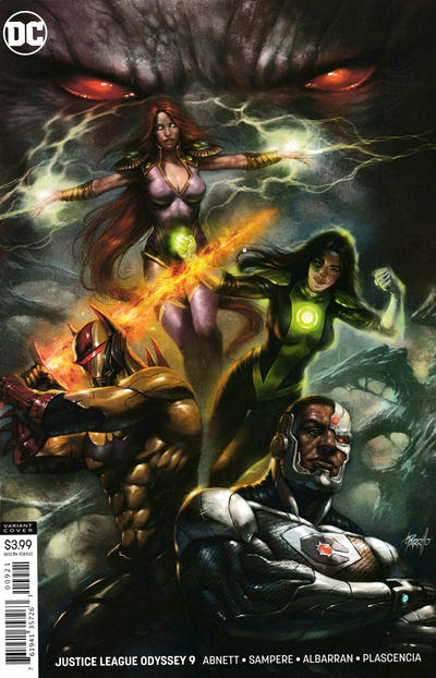 Cover for Justice League Odyssey (DC, 2018 series) #9 [Lucio Parrillo Variant Cover]