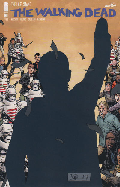 Cover for The Walking Dead (Image, 2003 series) #191