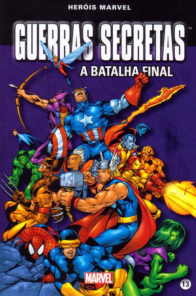 Cover for Marvel Série I (Levoir, 2012 series) #13 - Guerras Secretas - A Batalha Final