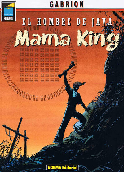 Cover for Pandora (NORMA Editorial, 1989 series) #54 - El hombre de Java. Mama King