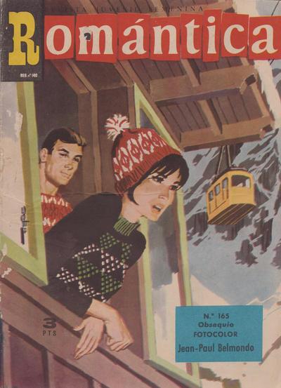 Cover for Romantica (Ibero Mundial de ediciones, 1961 series) #165
