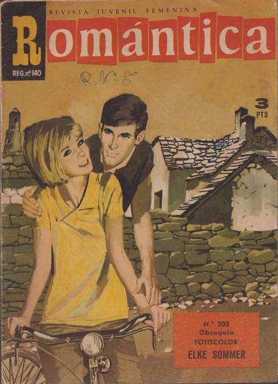 Cover for Romantica (Ibero Mundial de ediciones, 1961 series) #205