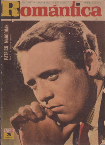 Cover for Romantica (Ibero Mundial de ediciones, 1961 series) #255