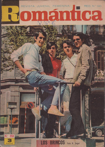Cover for Romantica (Ibero Mundial de ediciones, 1961 series) #259