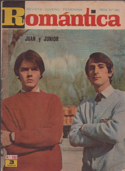 Cover for Romantica (Ibero Mundial de ediciones, 1961 series) #280