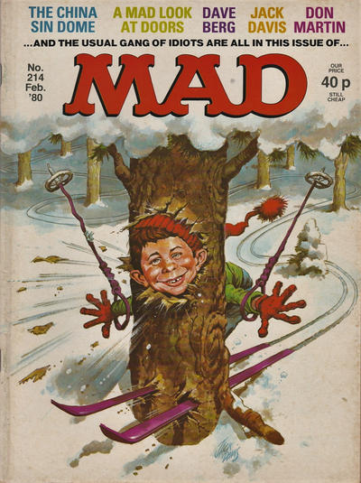 Cover for Mad (Thorpe & Porter, 1959 series) #214