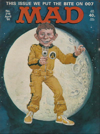 Cover for Mad (Thorpe & Porter, 1959 series) #216