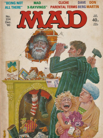 Cover for Mad (Thorpe & Porter, 1959 series) #224