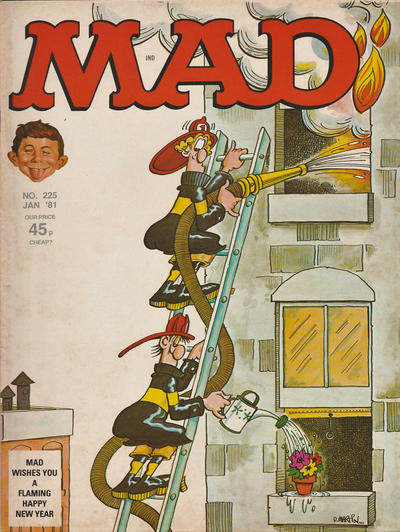 Cover for Mad (Thorpe & Porter, 1959 series) #225