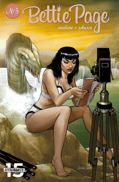 Cover for Bettie Page (Dynamite Entertainment, 2018 series) #5 [Cover B Scott Chantler]