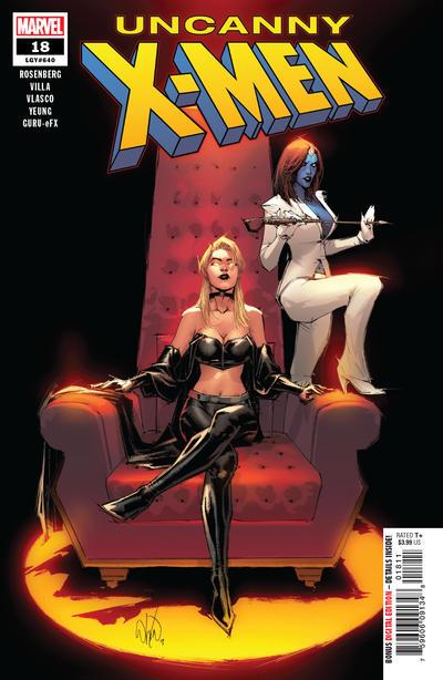 Cover for Uncanny X-Men (Marvel, 2019 series) #18 (640)